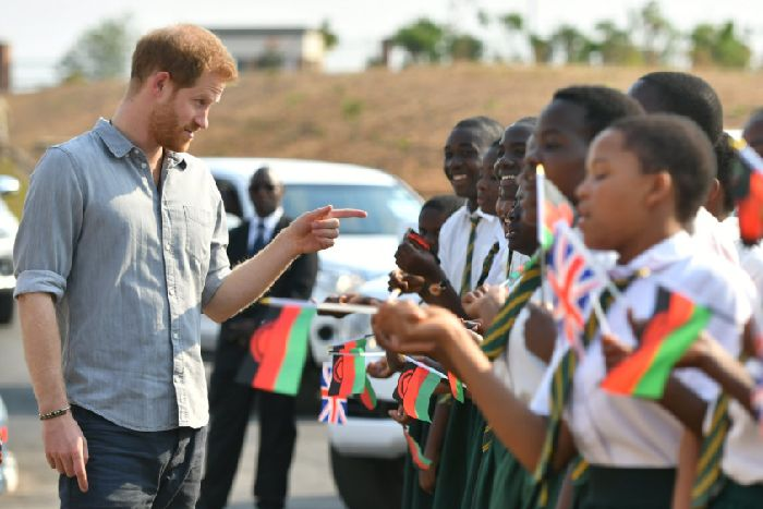 Prince Harry is right to shout about climate change during Malawi trip